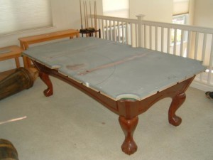 Naperville pool table moves correctly disassemble and reassemble your pool table.