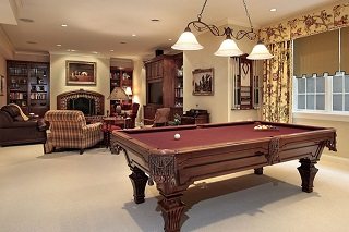 Naperville pool table room size image 1